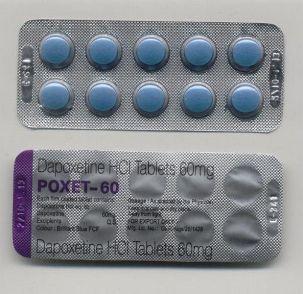 5 таблеток дапоксетин